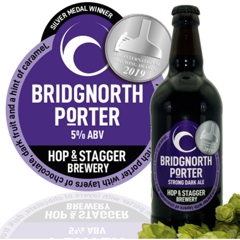 Bridgnorth Porter 5% ABV (12 x 500ml)