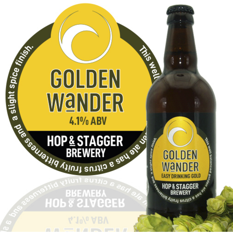 Golden Wander 4.1% ABV (12 x 500ml)